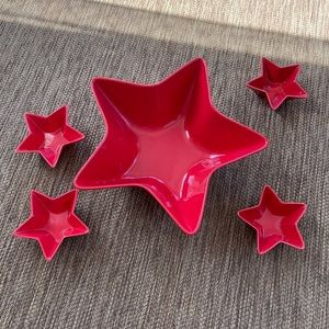 Stars Chip and Dips bowl